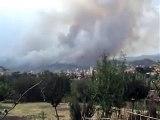 Incendio Ascoli Piceno da casa  28-08-2007