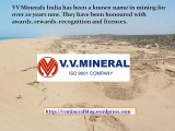 VV Minerals Has Not Been Mining Illegally, No Matter Who Says What: VV Mineral Vaikundarajan