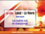 (J35) Laval - Le Havre, le point presse avec D. Zanko