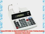 Canon MP41DHII 14-Digit GLOview LCD Two-Color Printing Desktop Calculator (Black/Red)