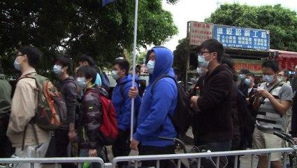 Manifestation contre les Chinois du Continent à Hong Kong
