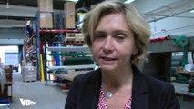 Valérie Pecresse en immersion dans une entreprise de Saint-Ouen-l'Aumône