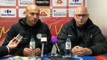 Gazélec Ajaccio 1-1 Tours FC : les réactions de T. Laurey & A. Dujeux !