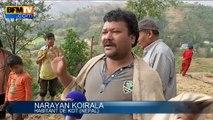 Séisme au Népal: des villages isolés totalement détruits, les habitants livrés à eux-mêmes