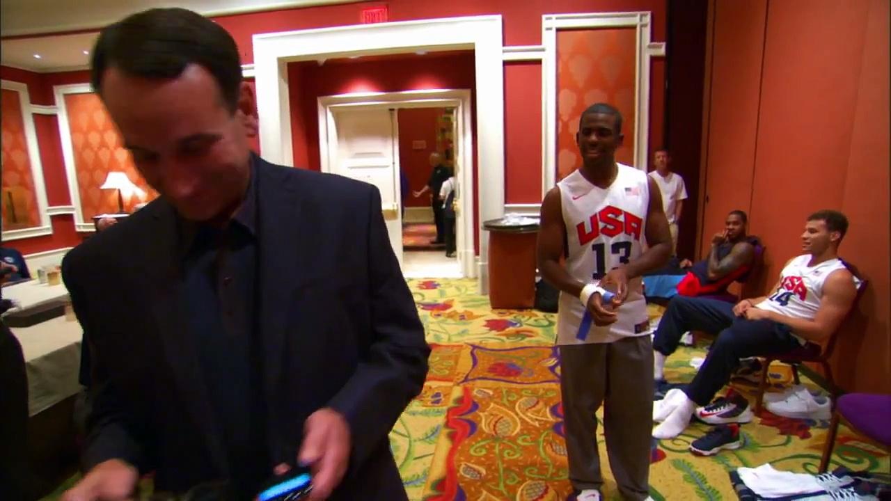 2012 USA Basketball Bloopers!