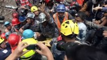 DRAMATIC RESCUE: Teen rescued 144 hours after Nepal quake