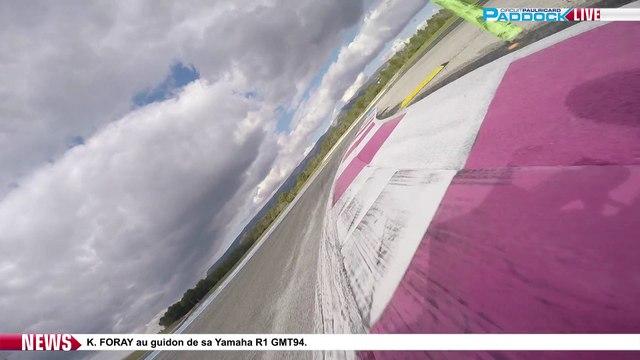 Kenny Foray (GMT94) en piste sur le Circuit Paul Ricard