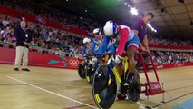 Team GB Win Cycling Team Sprint Gold - Hoy, Hindes & Kenny | London 2012 Olympics