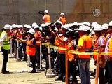 На Панамском канале установили последние шлюзовые ворота