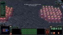 Starcraft 2: Heart of the Swarm beta - 40 Widow Mines vs 40 Widow Mines
