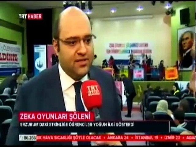 ERZURUM'DA ZEKA OYUNLARI ŞÖLENİ DÜZENLENDİ .