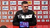 L1-J35 / EAG-REIMS : la conférence de presse d'avant match de J.Gourvennec