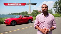2013 Ford Mustang GT Review - Mustang drop-top gets modern, stays classic