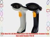 Ariic New 1D 2.4G Wireless Laser CCD USB Barcode Scanner Scan Gun Label Reader POS W