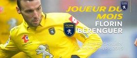 """Florin Bérenguer élu """"Joueur du Mois"""" d'Avril"""