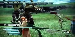 Playstation 3 Playing Final Fantasy XIII (13) Chapter 11 Behemoth King CP Farm