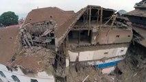 Drone Footage - Nepal earthquake - CNN