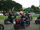 """Hells Angels Funeral - Mark """"Papa"""" Guardado Funeral Procession"""