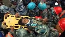 Nach fünf Tagen unter den Trümmern konnten in Nepal eine Frau und ein 15-Jähriger lebend geborgen werden