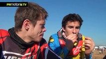 Entrevista a Marc Marquez - Campeón MotoGP 2013 - Evento Christmas TT Series en PRMotor TV