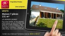 A vendre - maison - LES BORDES (45460) - 7 pièces - 131m²