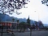 Lycée RENOIR Cagnes sur Mer 2006 - grève et échange de fumigènes