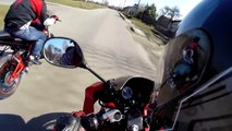 Yamaha TZR 50 & NK7 | Ride In City | GoPro 3+ BE