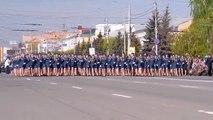 Desfile Militar de Chicas Rusas