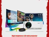 Aketek UC30 100 150 Lumens Hdmi Portable Mini LED Projector Home Cinema Theater Av/vga/usb/sd/micro