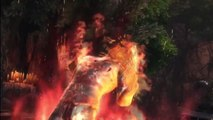 Mortal Kombat 9 PS3 HD Online Freddy and Scorpion Vs Kratos and Liu Kang