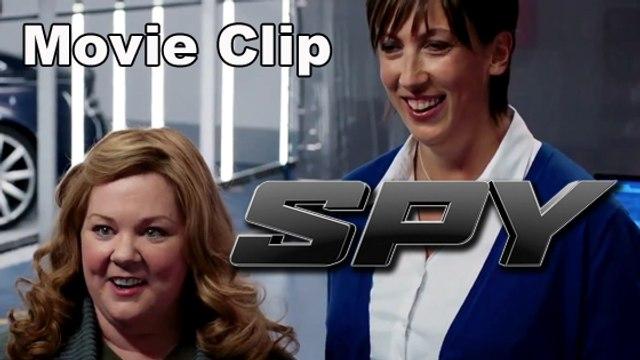 """SPY - Movie Clip """"Weird Gadgets"""" [Full HD] (Melissa McCarthy, Jason Statham, Jude Law)"""