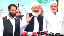 JI_#039;s Chief Siraj-ul-Haq Ignoring _#039;Azan_#039; during his Media Talk