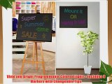 Pyle PLWB6090 Erasable Illuminated Flashing LED Writing Board with Remote Control and 8 Fluorescent