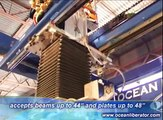 Ocean Liberator CNC Beam Coping Machine - how to cope structural steel beams and profiles