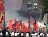 Beşiktaş'ta polis eylemcilere böyle müdahale etti
