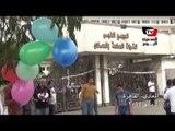 بلالين وهدايا لمبارك في عيد ميلاده أمام «المعادي العسكري»