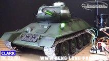 T 34 Clark TK 22 RU Platine Modul T 34 V2 Sound Set RC Tank Panzer von Heng Long Taigen licmas-tank