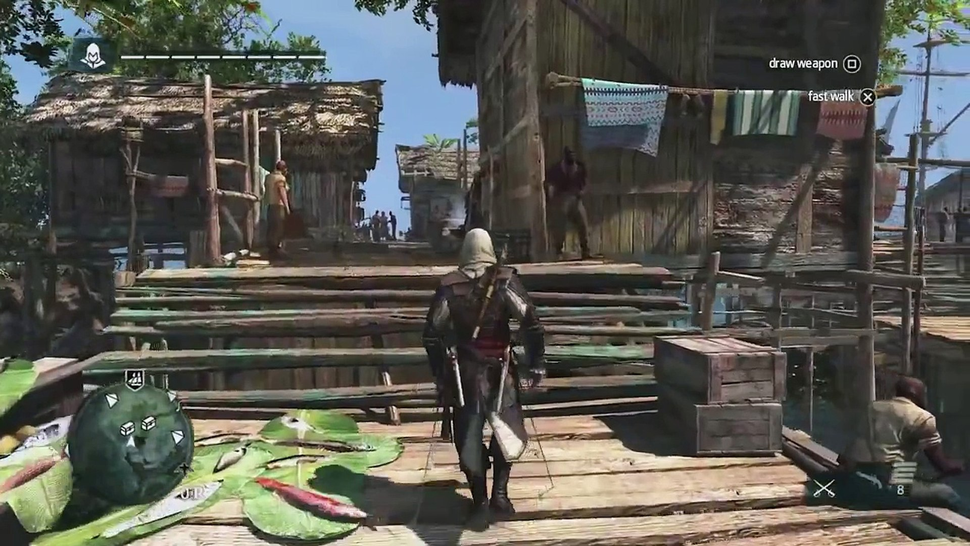 Assassin's Creed 4 Black Flag [PLAYSTATION 4 GAMEPLAY] CARIBBEAN OPEN WORLD GAMEPLAY [HD]