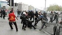 İstanbul'da 1 Mayıs! Polisten Eylemcilere Sert Müdahale