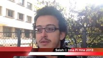 لقاء مع طلبة تونسيين بجامعة باريس étudiants tunisiens à Paris France