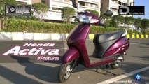 Honda Activa 110cc Features | Torque - The Automobile Show