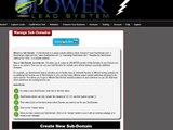 The Power Lead System Tutorial│ Power Lead System-: Branding, Domain and Sub- domains