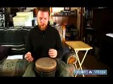 How to Play the Djembe Drum : How to Play the Flam Tap on a Djembe Drum