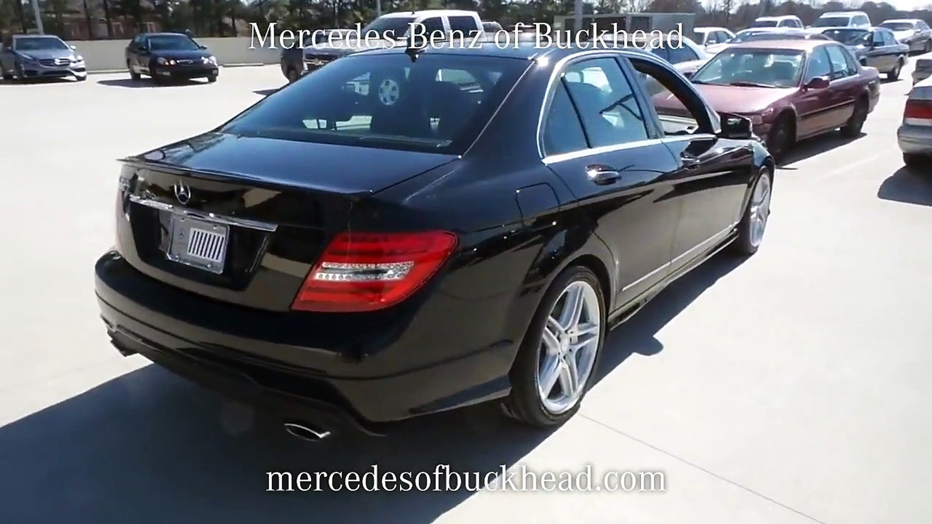 SOLD - USED 2013 MERCEDES-BENZ C350 SPORT for sale at Mercedes-Benz of Buckhead  #P6344