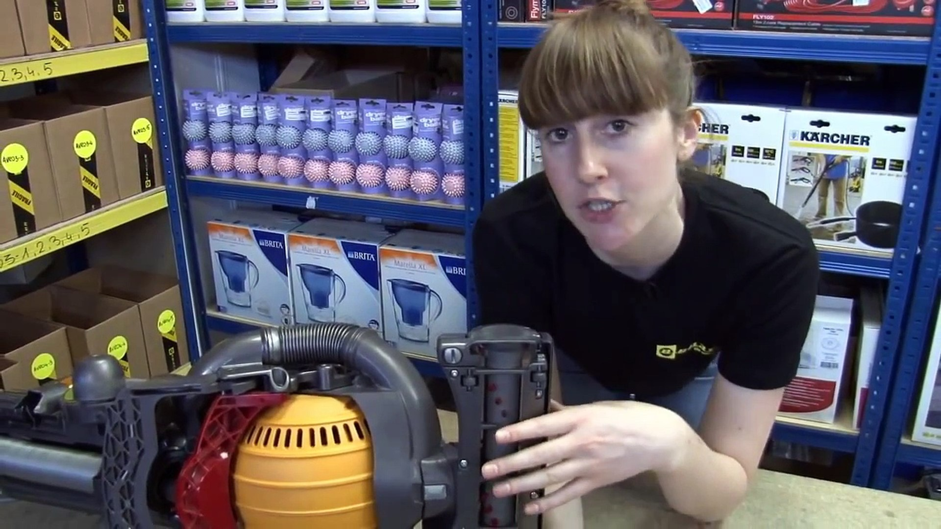 How To Replace The Dyson Belt On A Dyson Dc25 Vacuum Cleaner Video Dailymotion