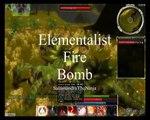 Guild Wars Elementalist Fire Bomb
