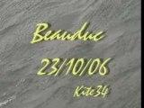Kitesurf kite34 a Beauduc (23 10 2006)