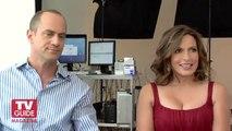 Mariska Hargitay and Chris Meloni Cover Photoshoot! Law & Order SVU with TV Guide Magazine