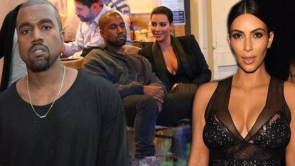 kim kardashian kanye west forced to wait yes wait for a table photo