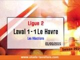 (J35) Laval 1-1 Le Havre, réaction de D. Zanko
